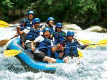 Arung Jeram di Sungai Ayung