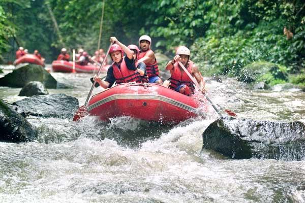 Rafting di Sungai Ayung, Ubud