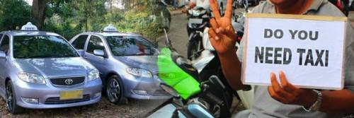Taksi di Bali
